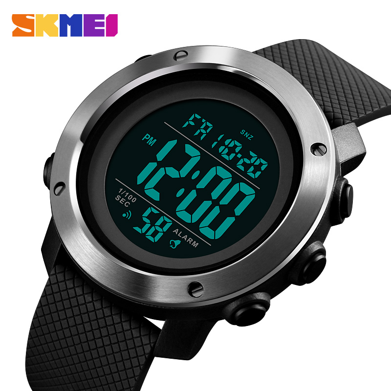 Watches Supply Alike Men Sports Watches Double Time Watch Alarm Chronograph Led Digital Wristwatches 50m Waterproof Relogio Masculino Digital Watches