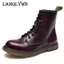 Fashion Ankle Boots Autumn men's Motorcycle Martin Boots men Oxfords men Shoes plus size 35-46 H45