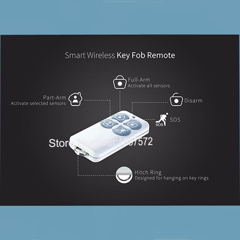 5-New Arrival Broadlink S1S1C SmartOne Alarm&Security Kit For Home Smart Home Alarm System IOS Android DoorWindow Sensor RF433
