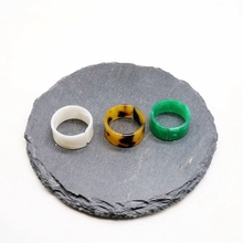 Free Shipping Cute Resin White Green Tortoise Resin Rings pre order resin toys [t75010] belford free shipping