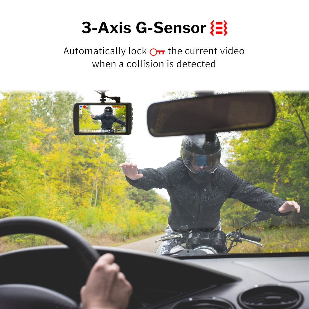 Image 4 - Deelife Dash Cam Car DVR Camera Full HD 1080P Drive Video Recorder Registrator Auto Dashboard 1296P Dual Dashcam Black DVRs Box-in DVR/Dash Camera from Automobiles & Motorcycles