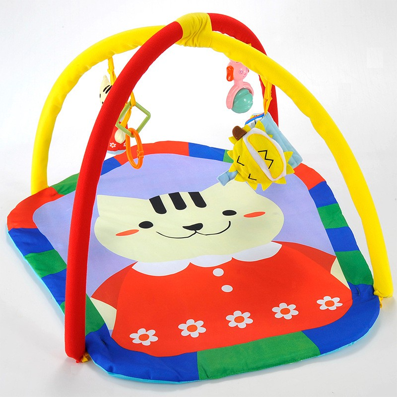 2017 brand Baby Educational Crawling Mat Play Gym Kids Blanket Toy Baby Play Mat Game Infant Prince Frog 0-12 Months