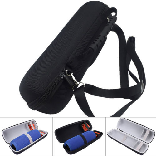 US $8 27 31% OFF|Carry Case Shoulder Bag Speaker Pack Shoulder Strap Pack  for JBL Pulse 3 Charge 3 Flip 4 Speaker Travel EVA Compatible-in Storage