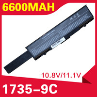 ApexWay 6600mAH Laptop Battery For dell Dell Insprion 1737 Studio 1735 1737 312 0708 312 0711 312 0712 KM973 KM974 KM978 MT335