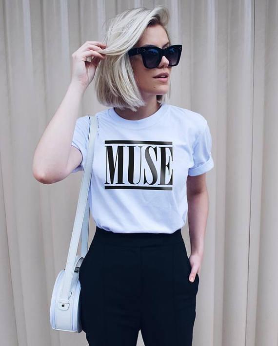 Muse T Shirt Tumblr Fashion Rock Star T Shirt moletom do ...