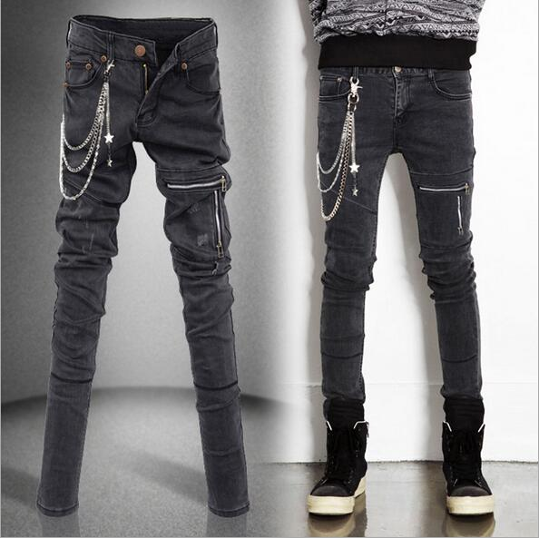 Popular Denim Cargo Pants Men-Buy Cheap Denim Cargo Pants Men lots ...