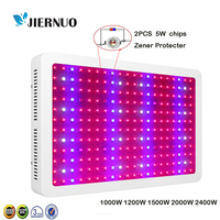 JIERNUO Plant LED Grow Light 2400W 2000W 1200W 1500W 1000W Full Spectrum Lamps For Tent Vegetable Grow Hydroponics Flower Bloom