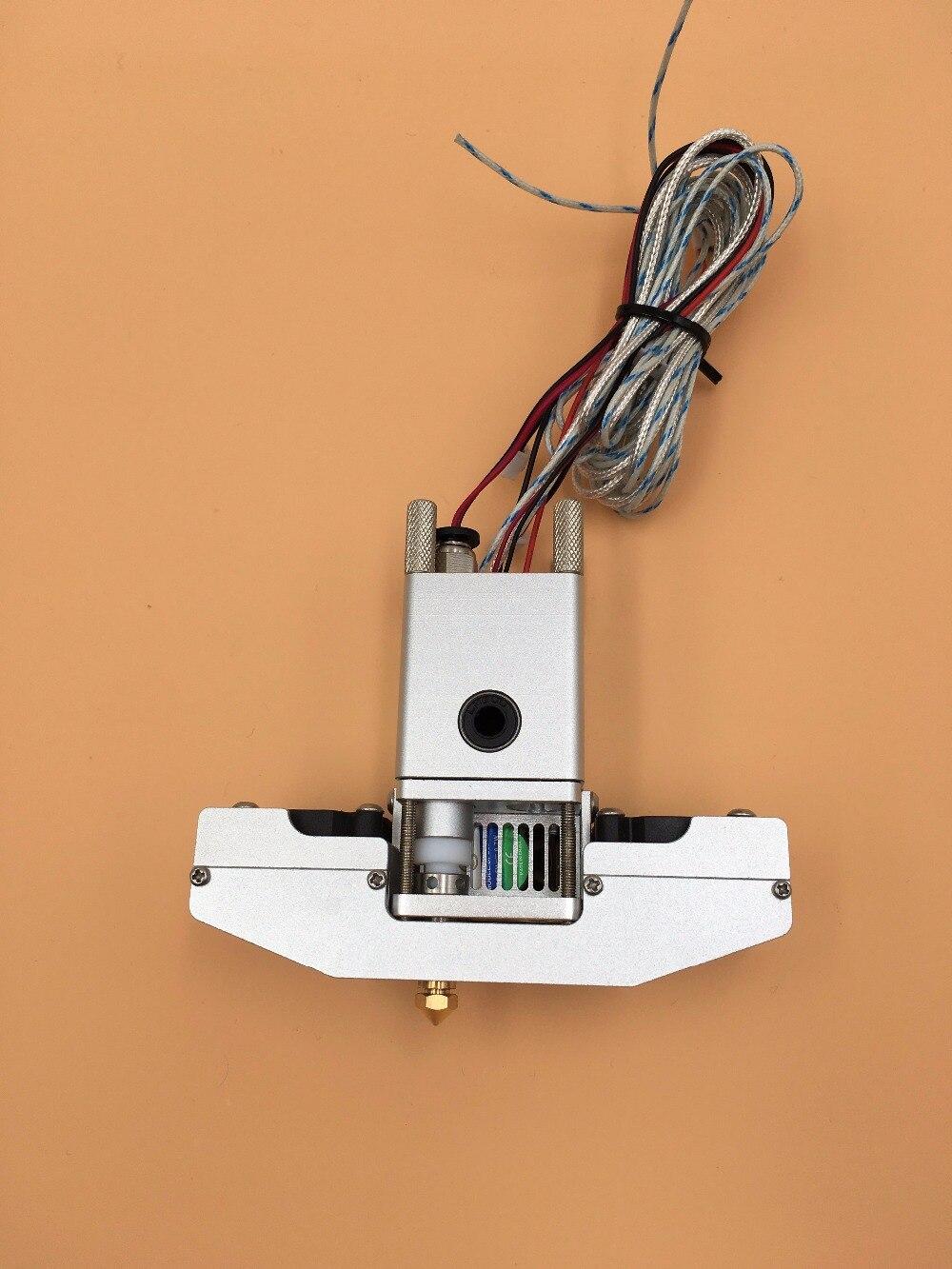 Blurolls Ultimaker 2+ 3d printer hot end full kit aluminum 1.75/3mm Olsson block and nozzle pt100 sensor and heater cartridge