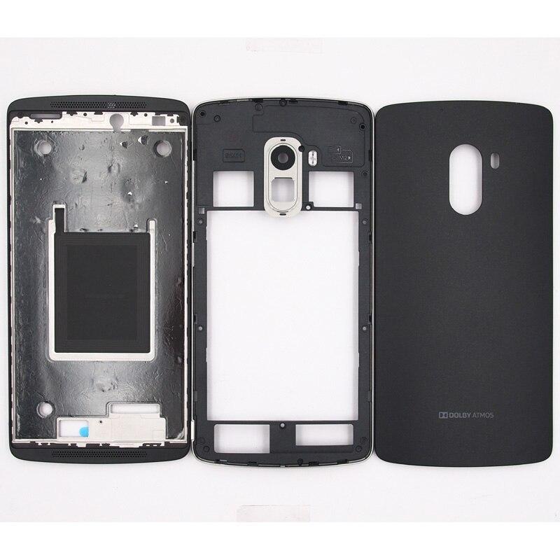 BaanSam New Front Frame Middle Frame Battery Door Back Cover Housing Case For Lenovo K4 NOTE A7010 With Camera Lens
