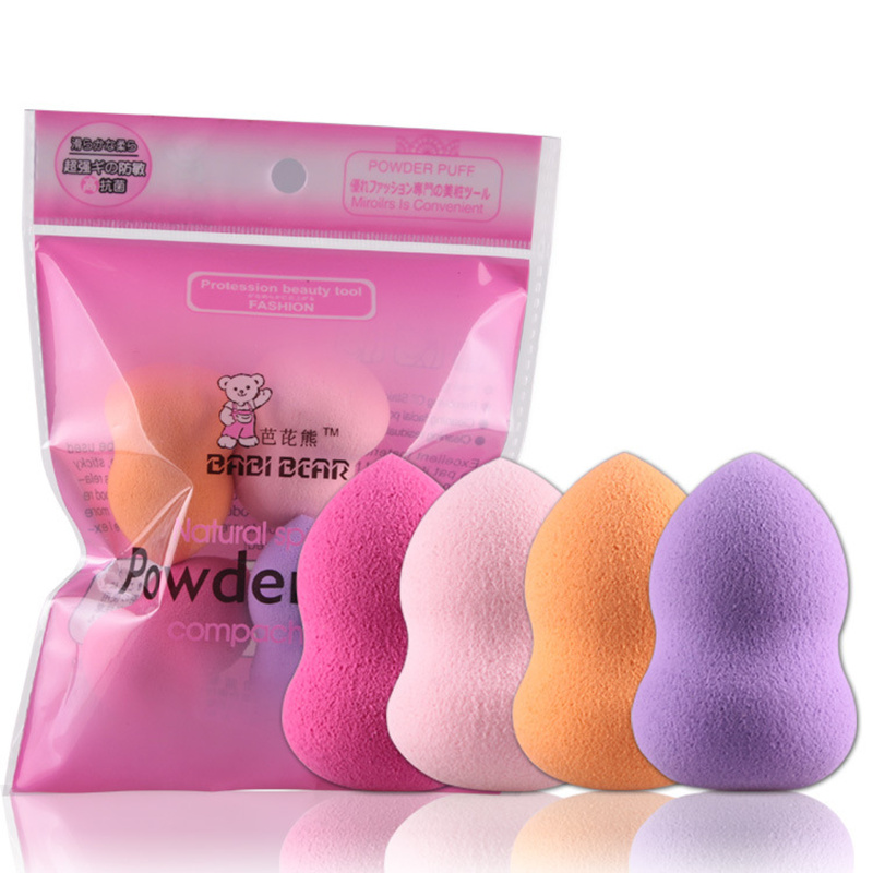 Rosto fundação esponja mistura sopro cosméticos puff beleza nariz facial compõem puff para mulher maquillage esponja maquiagem