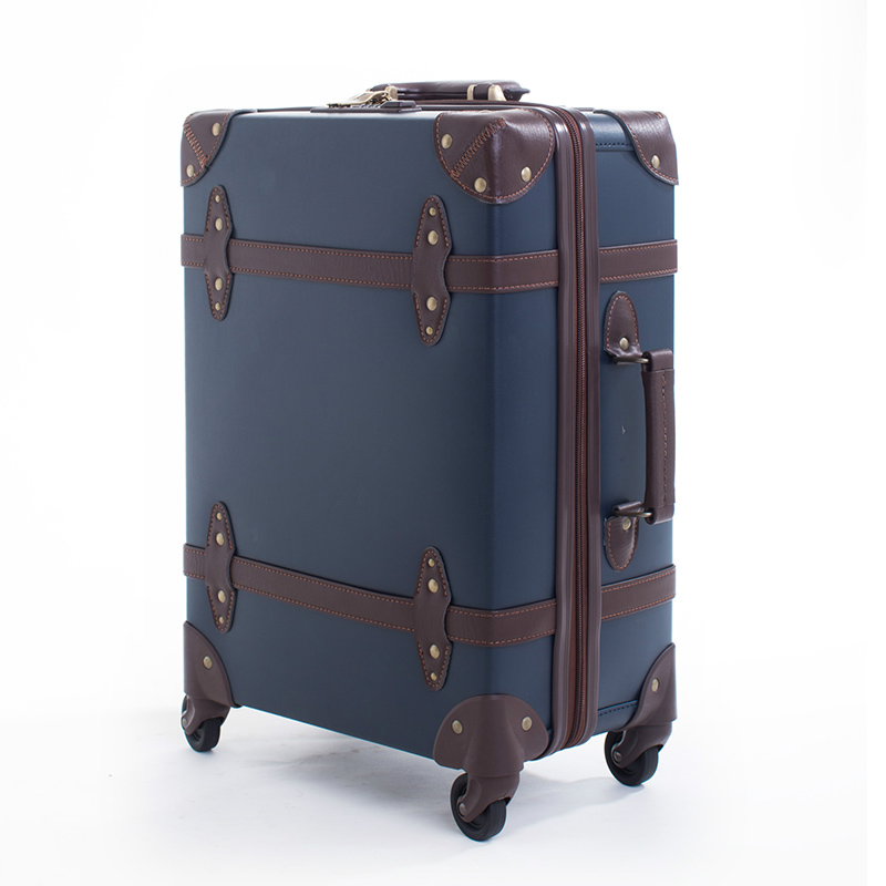 Vintage Suitcase With Wheels