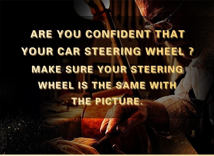 Braid on the Steering Wheel Cover -04