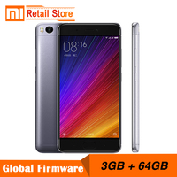 Original Xiaomi Mi5s 3GB RAM 64GB ROM Mobile Phones Mi 5 S Snapdragon 821 5.15''1920x1080 12.0MP Camera Cellphone Fingerprint ID