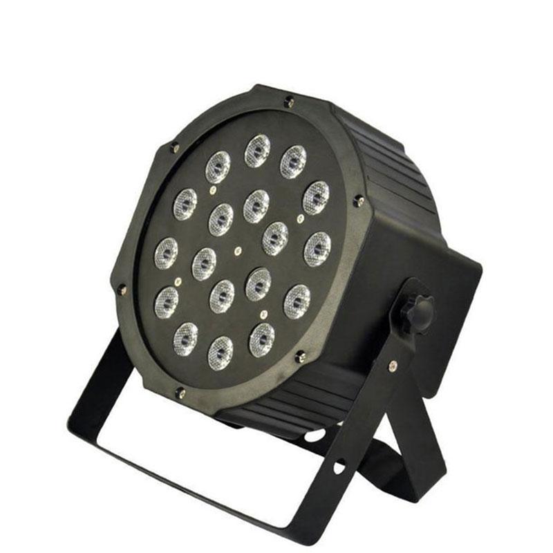 ФОТО 18*1W RGB LED Stage Par Light Professional DMX Control Atomasphere Light for DJ / Stage / Bar / KTV / Disco / Party / Garden