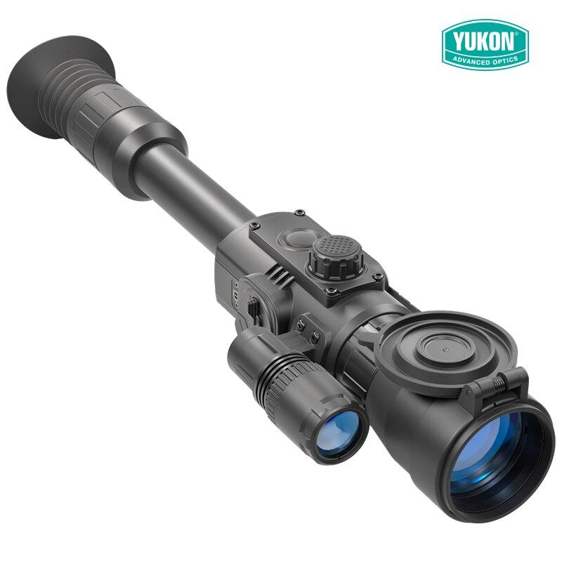 YUKON 4.5X42 S/6X50 dispositif de vision nocturne numérique lunette de visée chasse lunette de visée nocturne caméra infrarouge tactique pour la chasse