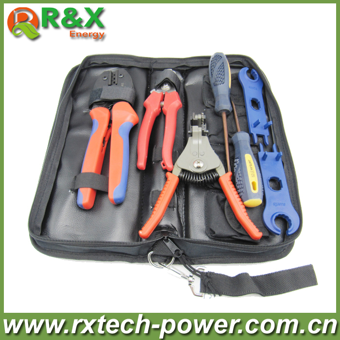Crimper Solar Crimping Tool Kits for 2.5-6.0mm2 MC3 and MC4 Connectors ,PV TOOL For Solar Panel Installation solar panel tool kit ly k2546b 1 pv tool set mc4 crimping tool set only including mc3 crimping die set mc4 mc3 crimping tool