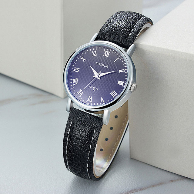 Yazole Бизнес Малый кварцевые часы Для женщин Часы Дамы бренд известный наручные часы для женщин часы Montre Femme Relogio feminino