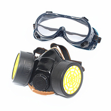 Filtro de protección Máscara de Gas Chemical Respirador Pintura rociar plaguicidas Antivirus máscara contra el polvo Máscara de Polvo de Seguridad envío gratis