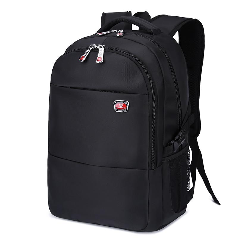 Men's Backpacks Bolsa Mochila for Laptop 14.3 Inch 15.6 Inch Notebook Computer Bags Men Backpack Large Schoolbag Black Rucksack baillr brand laptop backpack men women bolsa mochila for 14 15inch notebook computer rucksack school bag backpack for teenagers