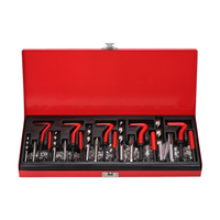 131PCS Helicoil Type Thread Repair Kit tool kit suitable for engine repair and other automotive applications