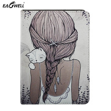"""Common 10 inch Pill Case 360 Rotate PU Leather-based Stand Cowl Case For Android 9.7"""" 10″ inch Tab PC Print Pc Sleeve"""