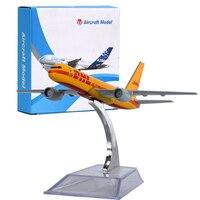 WR DHL Mini Uçak Modeli Şükran Günü Hediyeleri Uçak Ekran Modelleri için DHL Uçak El Sanatları Çocuk Doğum Günü Hediyeleri