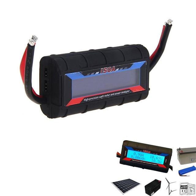 150Amp Power Analyzer RC Spannung Meter DC Strom Usage Monitor für RC Batterie Solar Wind Power-JDH99
