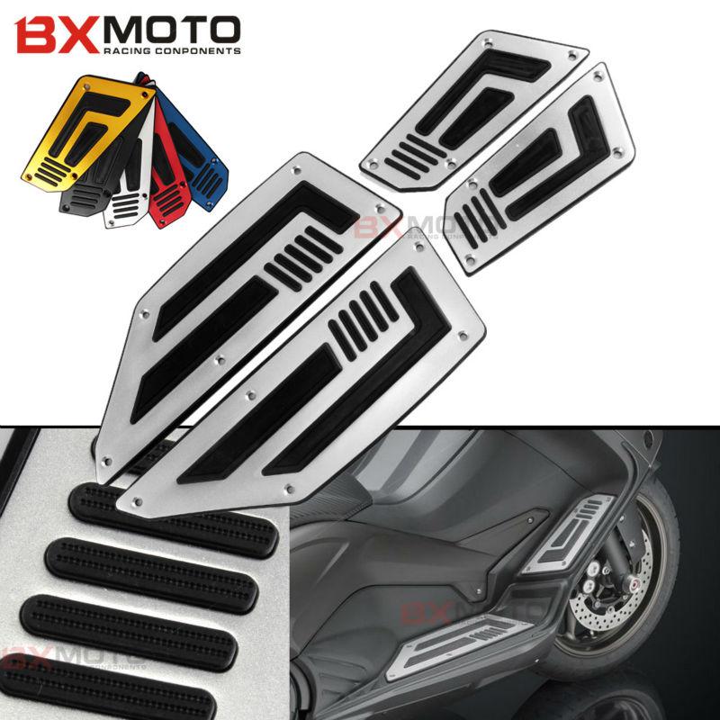 ერთი ნაკრები წინა და უკანა მოტოციკლეტის ფეხი, საყრდენის მოტოციკლი, ფეხის ნაბიჯი, მოტოციკლეტის პედლები, ფეხის საყრდენები Yamaha TMAX T-max 530
