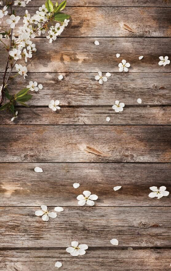 Spring Flower Backdrop Printed Photo Wallpaper Washable