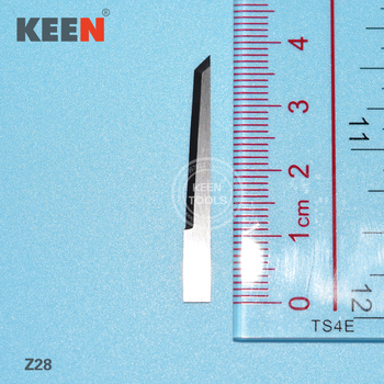 Tungsten carbide tipped grooving blade cutting Z28