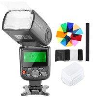 Neewer NW 670 TTL Speedlite Flash mit Hard Diffusor  12 Farbe Filter Kit für Canon 7D Mark II  5D Mark II III  IV  1300D  1200D|Blitze|Verbraucherelektronik -
