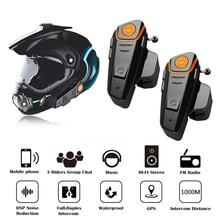 オリジナル 2 個 BT S2 プロオートバイヘルメットインターホンバイクワイヤレス bluetooth ヘルメットヘッドセット防水 FM ラジオインターホン
