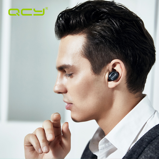 Headphone bluetooth 4.1 headset noise canceling with Mic for phone calls Invisible mini earphone business wireless