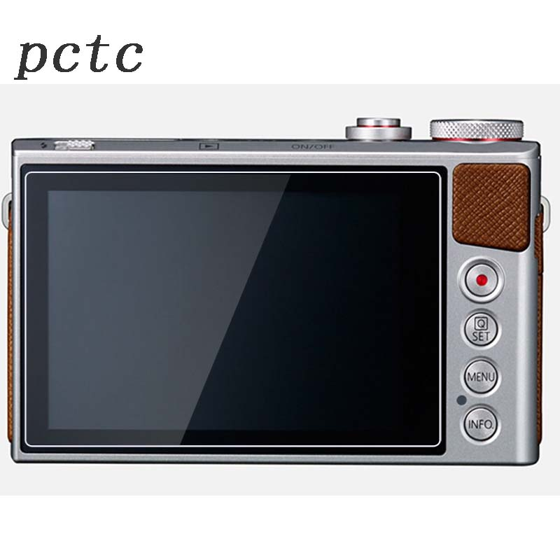 PCTC 2pcs 0.3mm For Canon G7X G9X HD anti scratch fingerprint toughened glass screen protective film