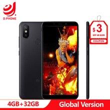 """Turchia 3 ~ 7 Giorni di Lavoro Globale Versione Xiao mi mi A2 4GB di RAM 32 Gb di ROM 5.99"""" pieno Schermo Snapdragon 660 Doppia Fotocamera Android Un Telefono"""