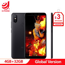 """Turquia 3 ~ 7 Dias de Trabalho Global Versão Xiao mi mi A2 32 4GB Ram GB Rom 5.99"""" snapdragon 660 Dual Câmera Android Um Telefone em Tela cheia"""