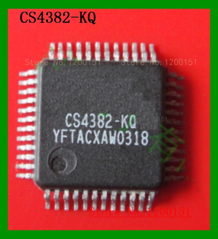 CS4382-KQ CS4382-KQZ QFP-48