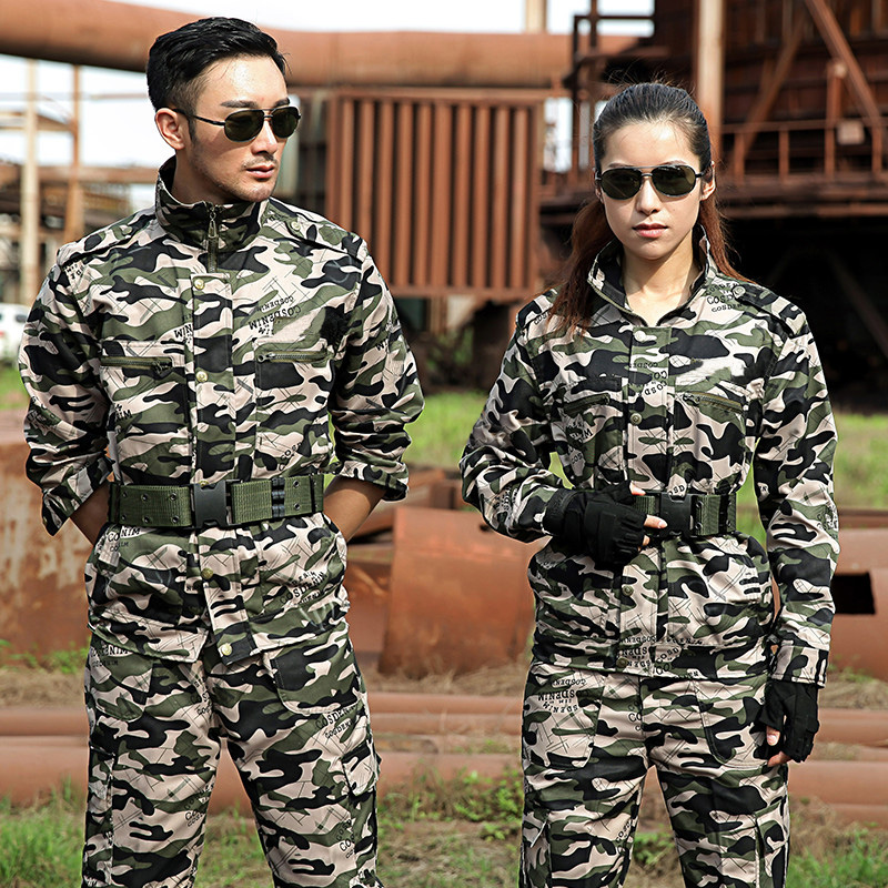 Military Uniform Camouflage Colete Tatico Sets Combat Jacket Cargo Pants Uniforme Militar Men Tactical Working Army Suit Female
