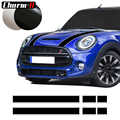 Car Styling Hood Bonnet Stripes Sticker Trunk Rear Engine Cover Vinyl Decal Stickers for Mini Cooper R56 R57 F55 F56 Accessories