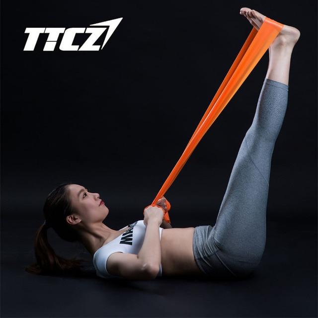 Joga pilates zespoły oporu naturalnego lateksu Opaski elastyczne taśma do ćwiczeń fitness crossfit treningu pull liny taśma do ćwiczeń szkolenia