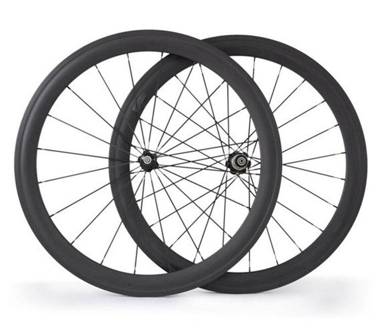 Big Sale 50mm Clincher Carbon Bike Wheel 23mm Width 700C Novatec Hub Matte Finish Road Wheelset 700C custom decals wheel 700c 38 50mm carbon road wheelsets clincher bike tubular rim 23mm with novatec a271 f372sb hub taiwan spokes