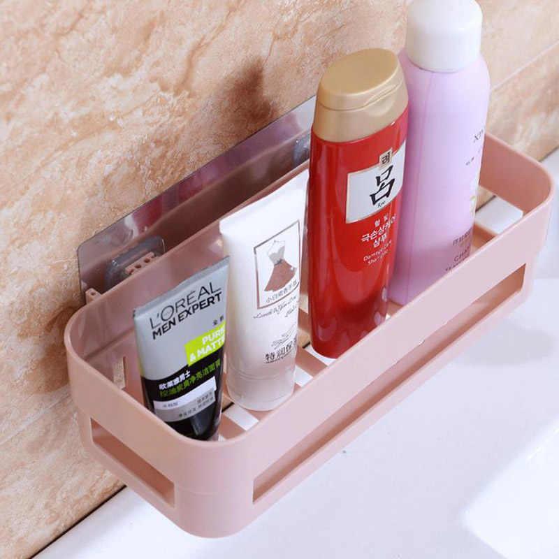 Łazienka półki rogu ściany organizator prysznic szampon uchwyt na papier toaletowy papier ssania pojemnik na termos wieszak na ręczniki łazienka akcesoria