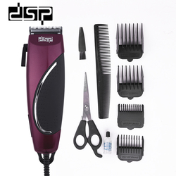 DSP E-90031 profesjonalna elektryczna maszynka do strzyżenia włosów tytanowe ostrze ze stali do włosów trymer fryzjerski maszyna do cięcia włosów narzędzie do golenia