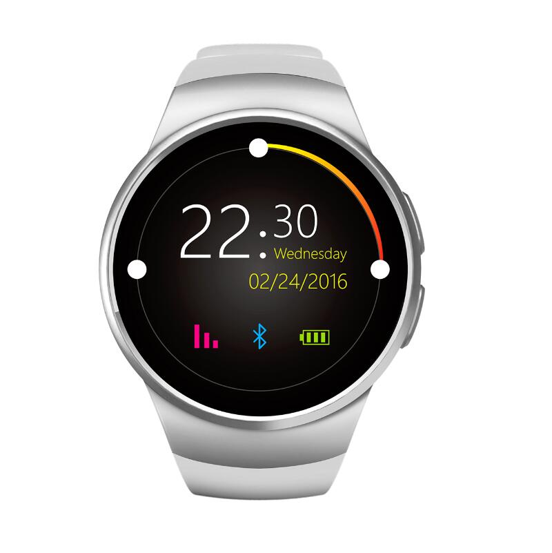 font b Smart b font font b Watch b font KW18 Gold Heart Rate Compatible