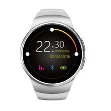 สมาร์ทนาฬิกาKW18ทองอัตราการเต้นหัวใจที่รองรับสำหรับแอปเปิ้ลIOS/AndroidบลูทูธR ElojมินิซิมS Mart W Atchสวมใส่อุปกรณ์