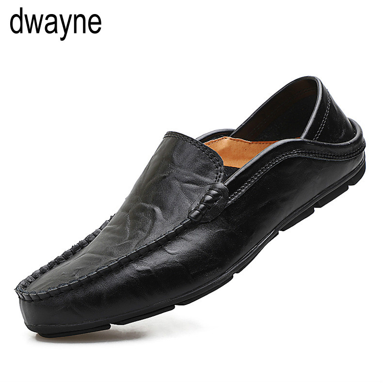 Dwayne 2019 Casual Genuine Leather Mens Loafers Moccasins