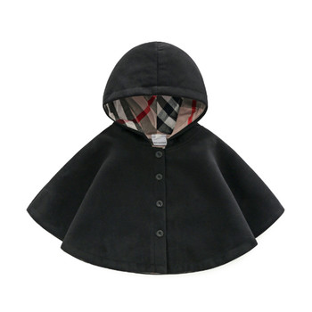 New Born Baby Girls Children's Winter Coats Jacket Clothes for 0-3 Months Winter 2018 Long Sleeve Spring & Autumn Outwear Cloak 1