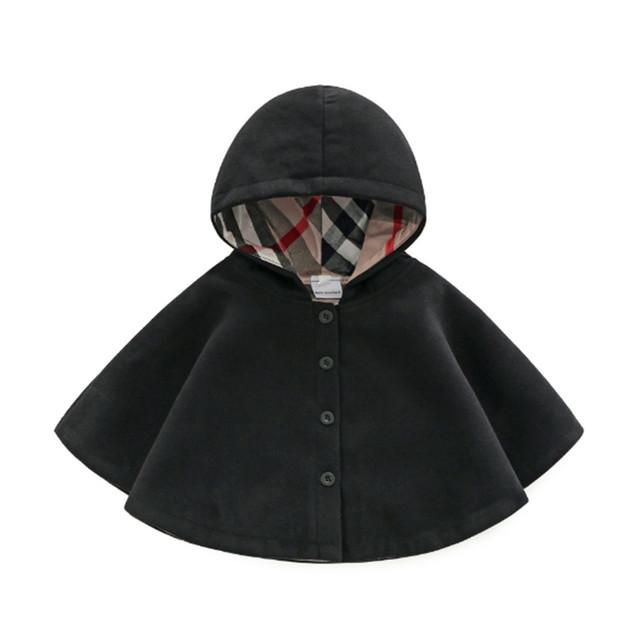 New Born Baby Girls Children's Winter Coats Jacket Clothes for 0-3 Months Winter 2018 Long Sleeve Spring & Autumn Outwear Cloak