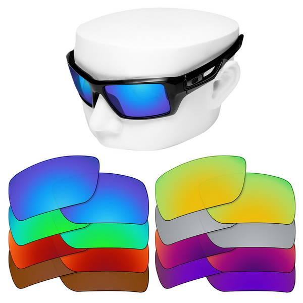 OOWLIT Polarized Replacement Lenses For-Oakley Eyepatch 2 OO9136 Sunglasses