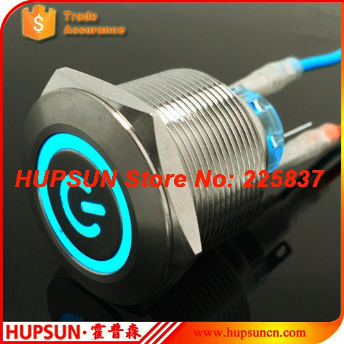 2pc waterproof 5v 12v 220v 25mm stainless steel led latching metal push button switch locking machine button switch car computer 3v 5v 12v 24v 48v 110v 220v led locking 16mm waterproof metal push button switch maintained metal switch latching push button